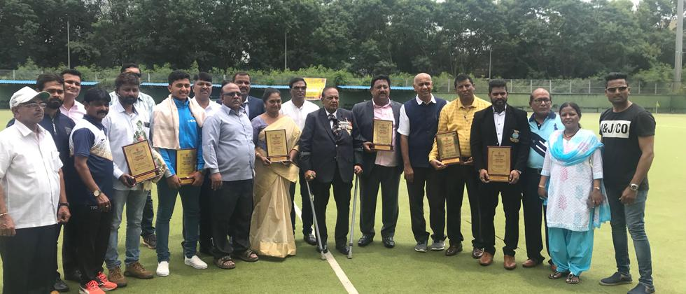 Sports personalities felicitated