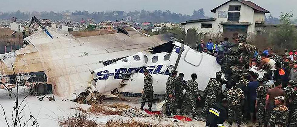 Over 50 dead in Nepal plane crash