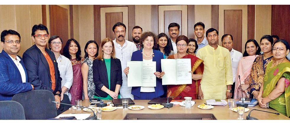 Pune, Austin city sign friendship treaty