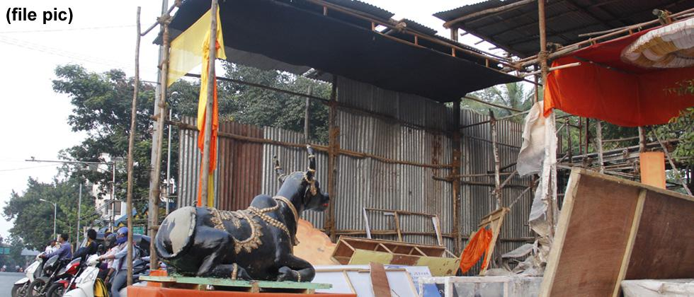 PMC to allow box frames for Ganesh pandals