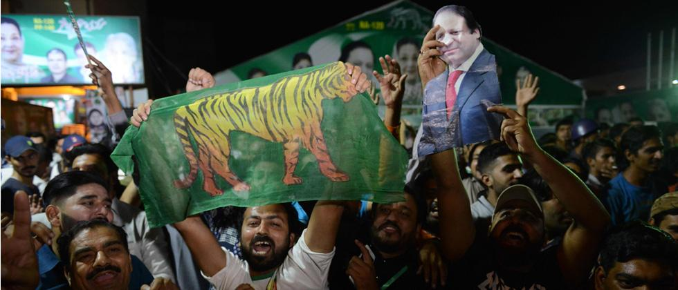 Sharif's wife wins Lahore by-poll