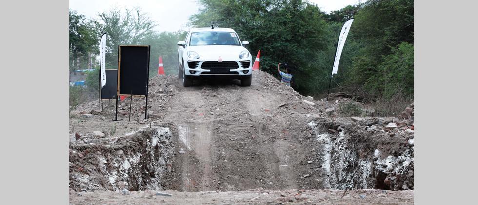 Porsche goes off-roading in Pune