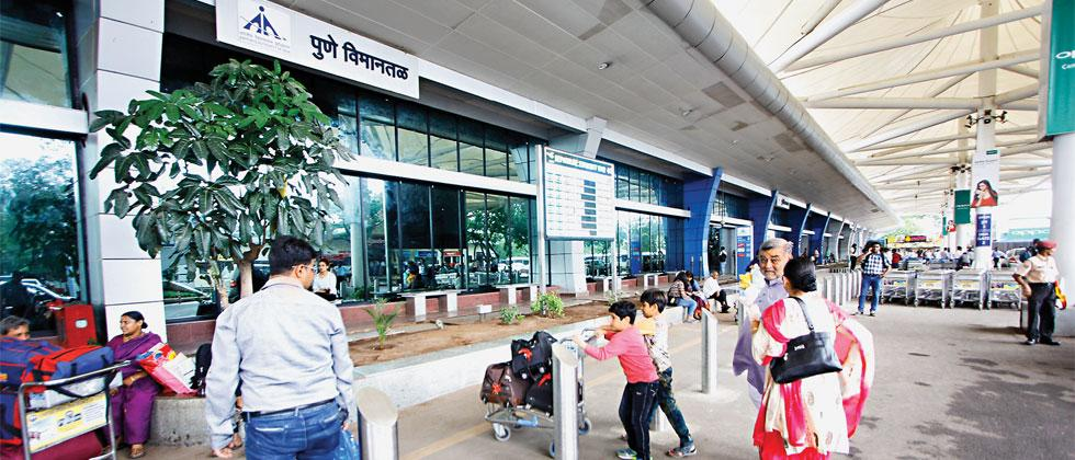 Passenger growth at Pune airport in April was 29 per cent, which indicates that the 10 million passenger mark could be achieved this year