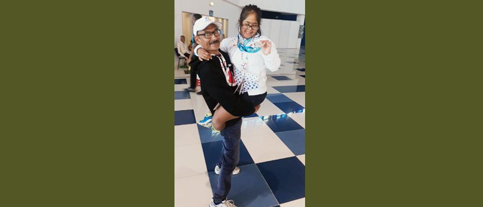 City girl wins two medals at Special Olympics