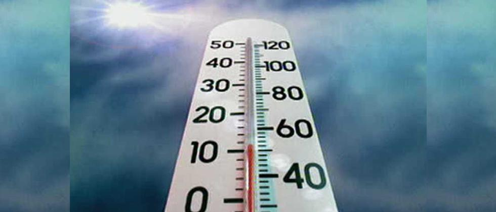 Day temperature rising across State; city faces heat