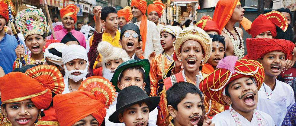 Gudhi Padwa procession organised by HNYWC