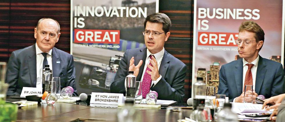 Maharashtra and Midland have lot of things in common, says Britain's Community Secretary