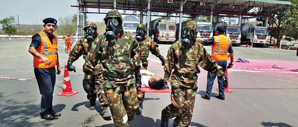 NDRF, SDMA conduct joint mock exercise in Chakan