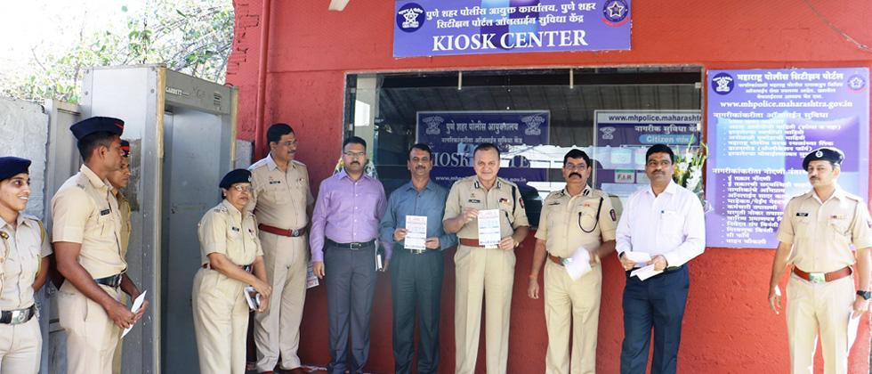 Police launch Kiosk centre