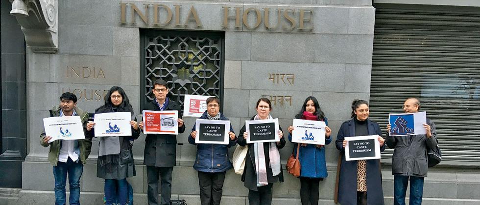 Protest against Koregaon-Bhima in London