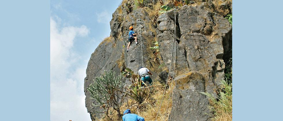 MORE STUDENTS OPTING FOR MOUNTAINEERING COURSES