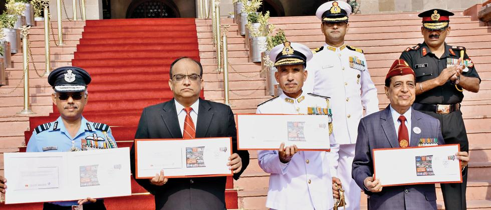 Special cover released to mark NDA Day