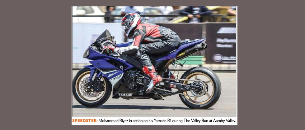 Hyderabad's Riyaz is 'Fastest Rider' at The Valley Run