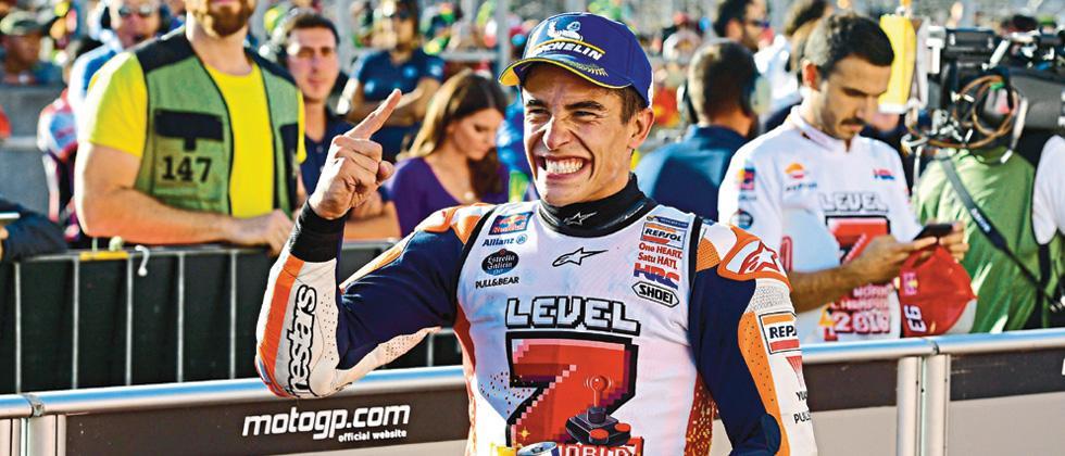 Marc Marquez wins Moto GP title