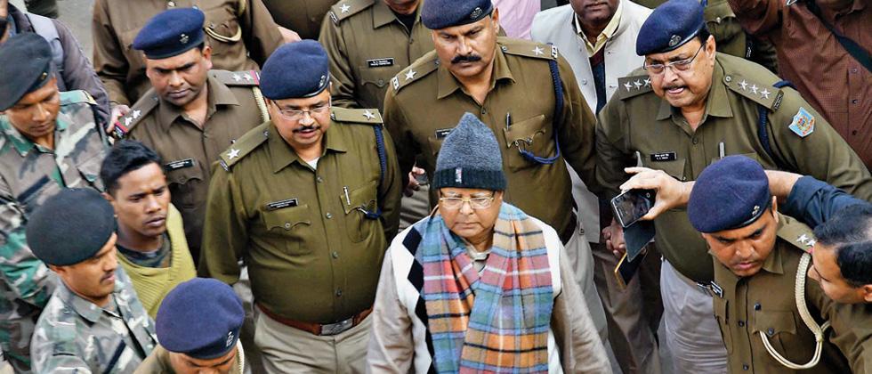 CBI court to pronounce punishment against Lalu