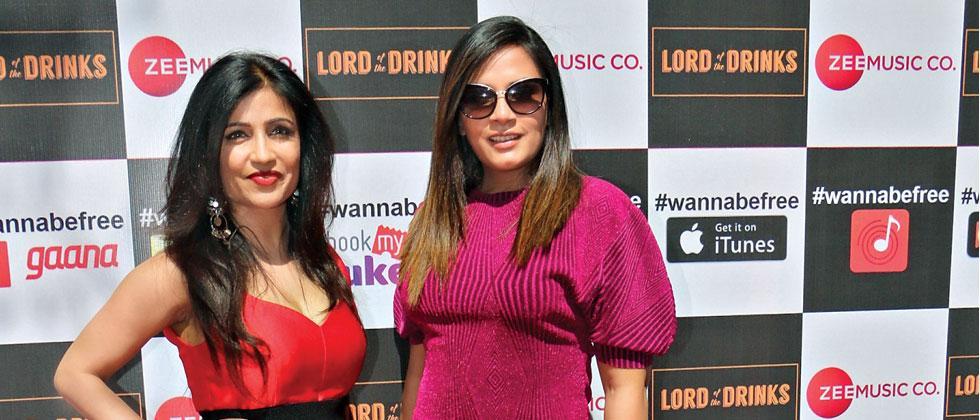 Richa and Shibani launch their music video