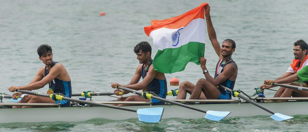 Indian rowers claim gold, 2 bronze medals