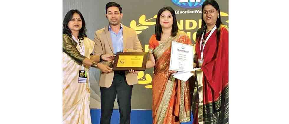 Priyadarshani School gets top rank in