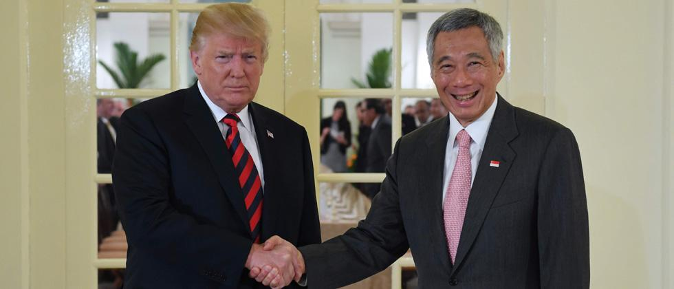 Trump meets Lee ahead of historic summit with Kim