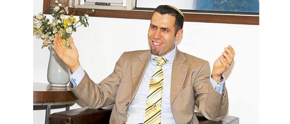 Israel's Consul General Ya'akov Finkelstein