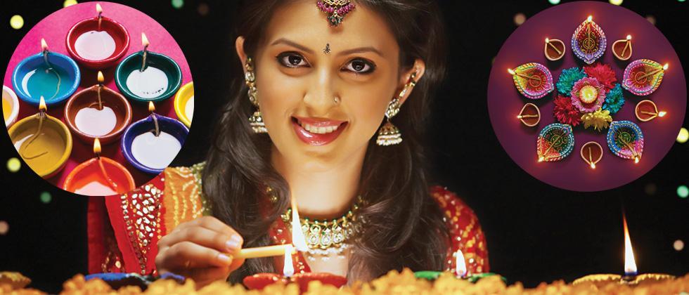A diya for Diwali