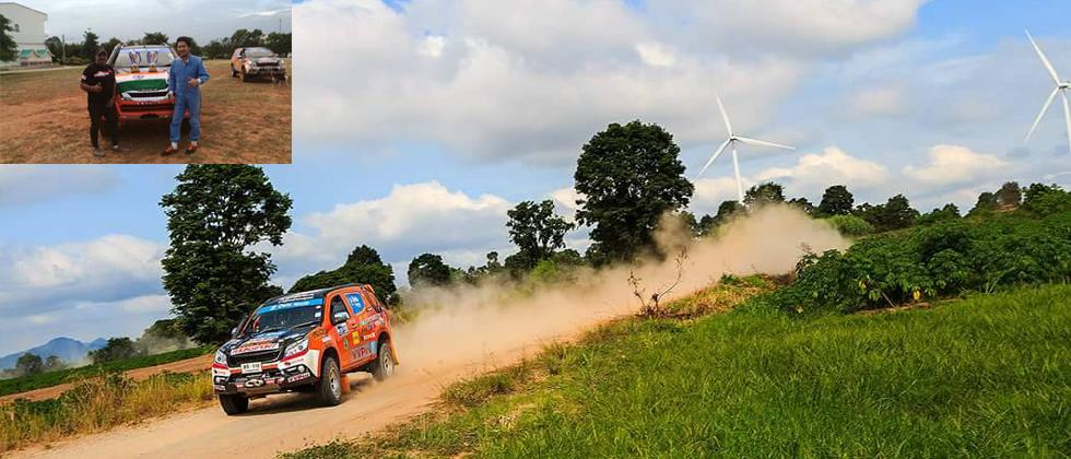 Takale will look for a win in Isuzu after a WRC high