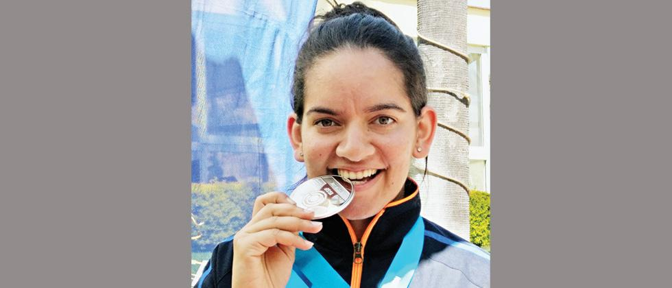 Shooter Anjum takes Rifle 3P silver at World Cup