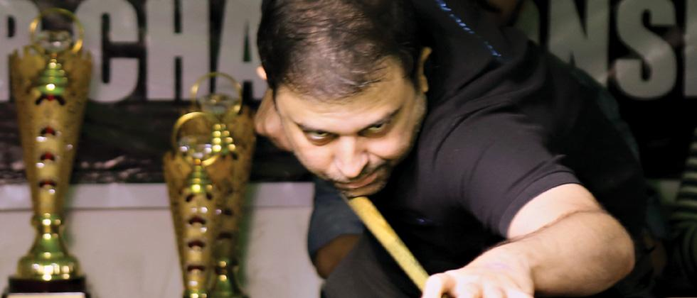 Anuj wins snooker title with a century break