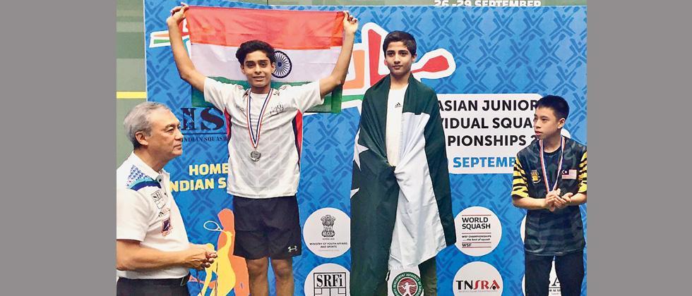 Arnaav clinches Under-15 silver