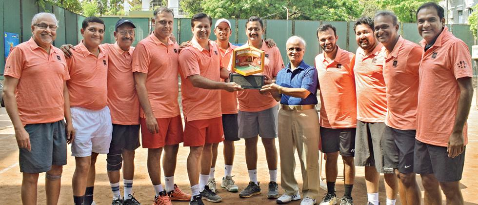 PYC A emerge winners of Shashi Vaidya tennis