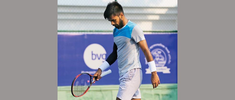 Sumit Nagal packs up after tame loss