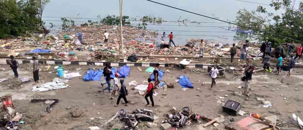 Indonesia earthquake, tsunami toll reached 832