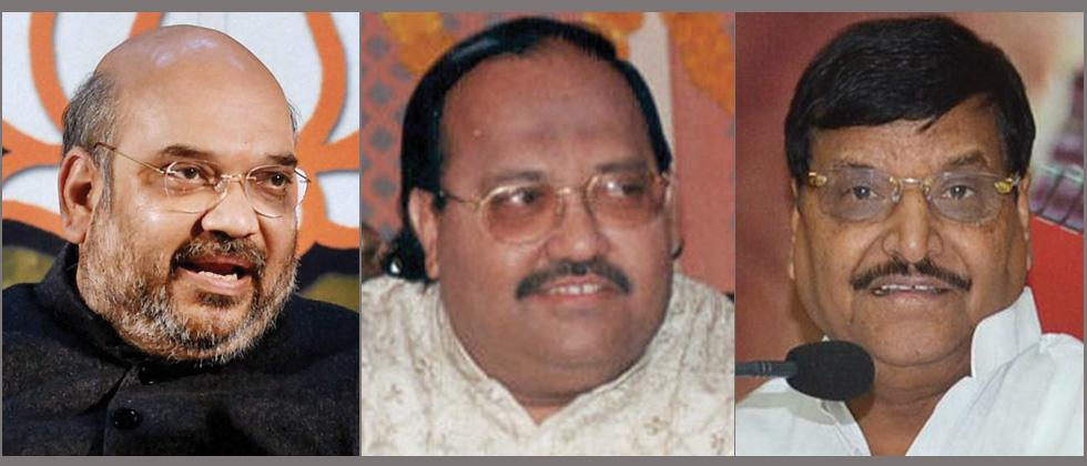 Amar Singh scheduled meeting between BJP, SP leader Shivpal