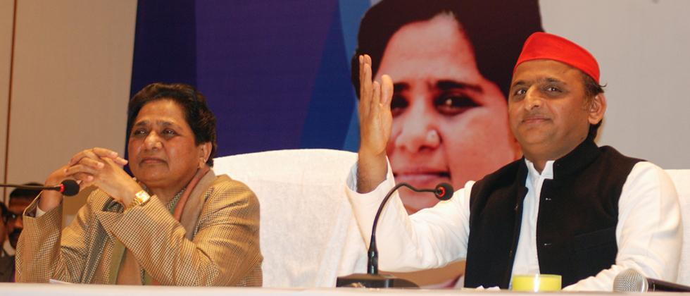 SP, BSP announce tie-up for Lok Sabha polls sans Congress, to contest 38 seats each in UP