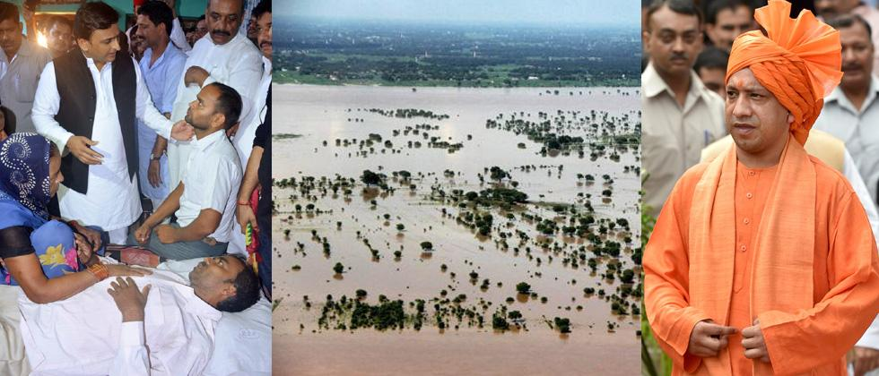 UP floods, Gorakhpur tragedy galvanises oppn SP into action
