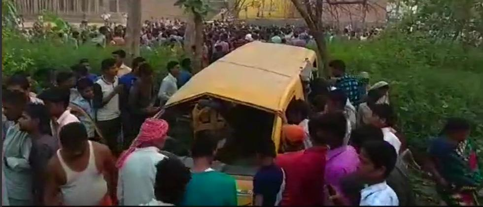 13 school children killed in UP accident