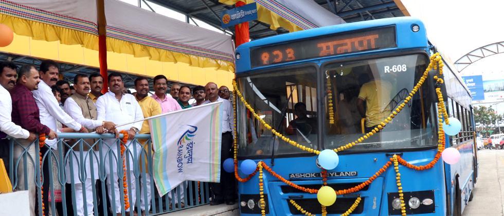 Dapodi-Nigdi BRTS launched