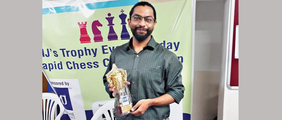 Chinmay crowned champ for 6th time