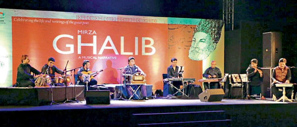 Of Ghalib's glory