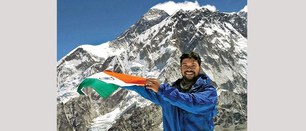 With LLT, Harshad Rao will be climbing Mt Kanchenjunga