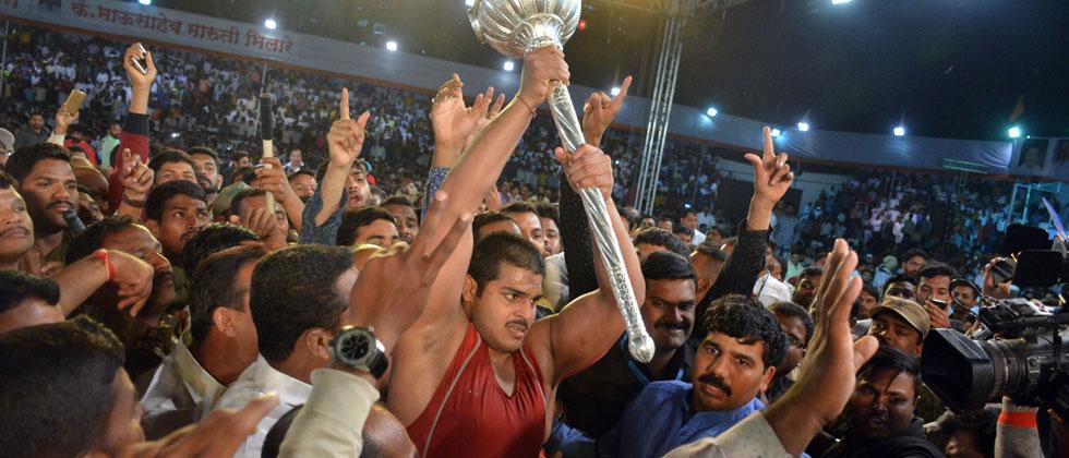Katke crowned Maharashtra Kesari