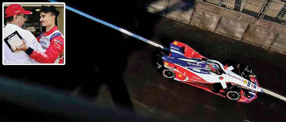 D'Ambrosio and Mahindra Racing retake c'ship lead