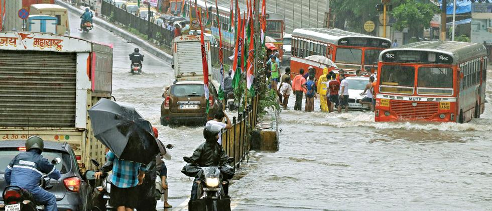 Who really is responsible for Mumbai's frequent monsoon deluges?