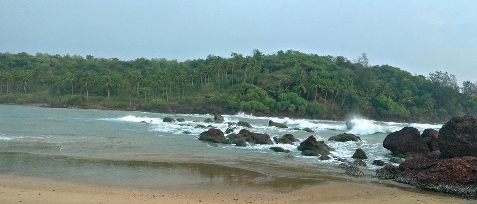 The serene beach