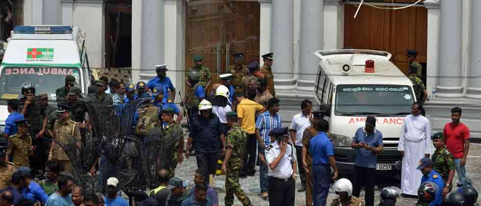 129 killed, over 400 injured as six blasts hit three churches, three five-star hotels in Sri Lanka