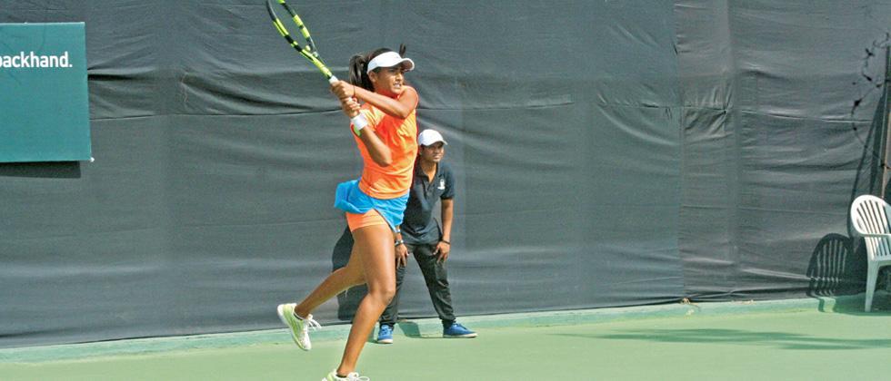 Rutuja knocks out India NO 1 Ankita in Round one