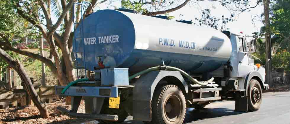 Water tankers' demand shoots up