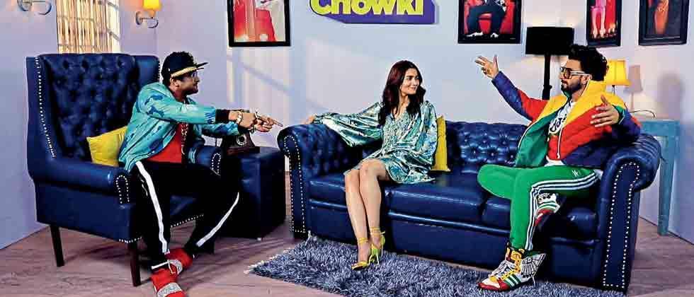 Ranveer Singh and Alia Bhatt rap it up