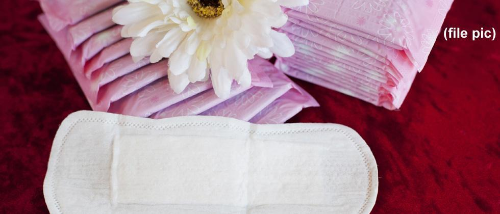 Sanitary napkins given to 400 tribals