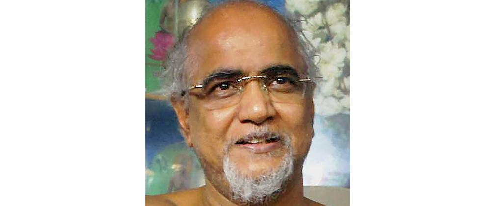 In this file photo dated Sept 21, 2016, is Jain Muni Tarun Sagar, in Chandigarh. Jain Muni passed away this morning after prolonged illness at the age of 51.